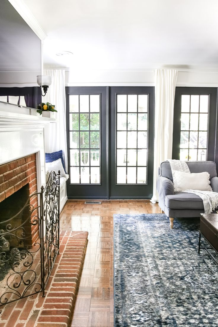 Best 25 long curtains ideas on pinterest - Long or short curtains in living room ...