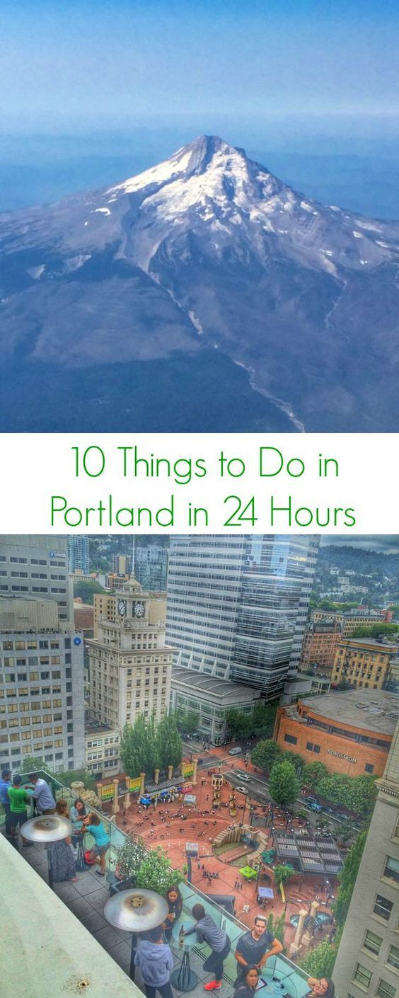 10 Things to Do in Portland in 24 Hours - The Lemon Bowl #travel