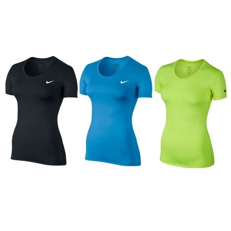 #Nike Pro Cool #fitnessshirt dames