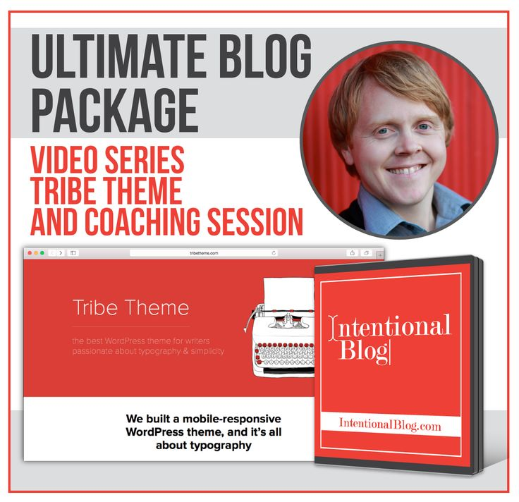 Ultimate Blog Package Giveaway