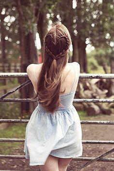 Tolle Flechtfrisur! Hippie Style! Von romantisch bis rockig: Tolle Flechtfrisuren für lange Haare