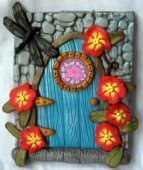Dragonfly Fairy Door  #thecraftstar