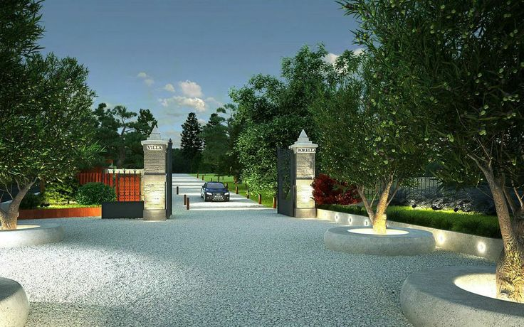 Giardini di Villa Borella, ©Mengucci Costruzioni