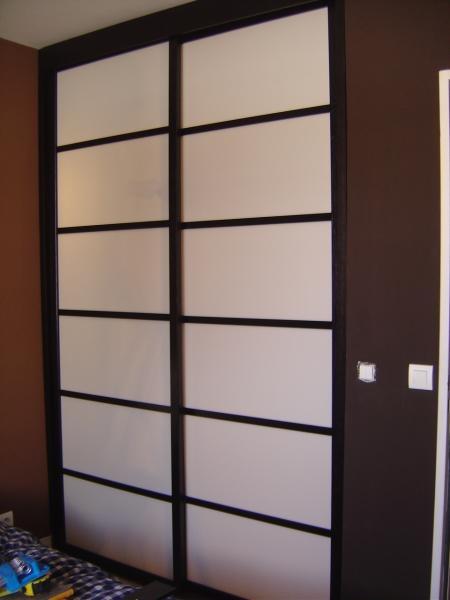 17 meilleures id es propos de cloison japonaise sur - Fabriquer porte coulissante placard ...