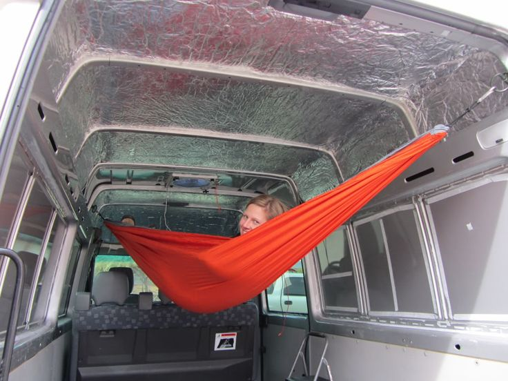 Or maybe we could use a hammock! ) Sprinter Vans