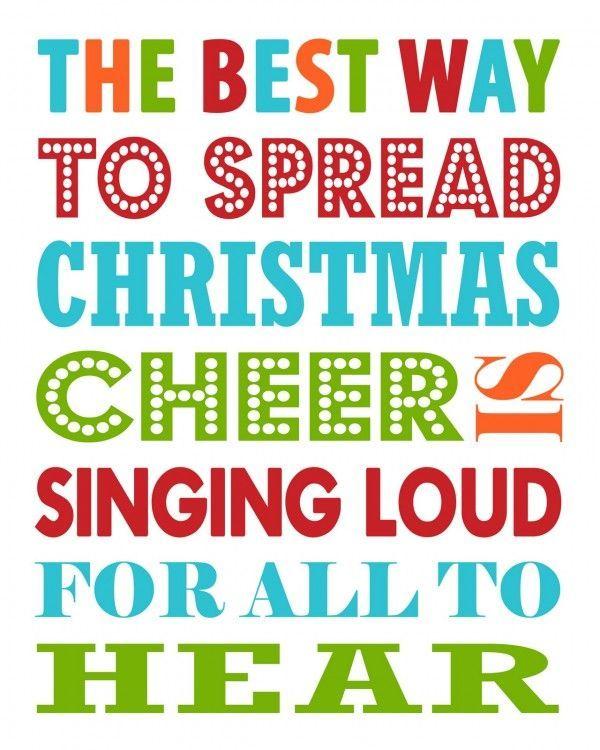 Christmas phrase