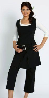 DAY SPA WEAR : D002 - Belt Dress - Black