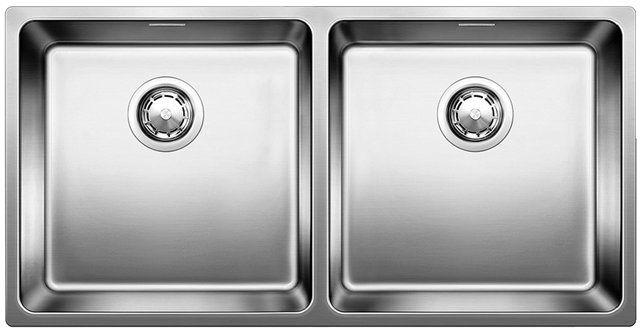 Blanco Andano 400/400-IF/N UX Mikrokant, Kjøkkenvask 86,5x44 cm, m/kurvventil…