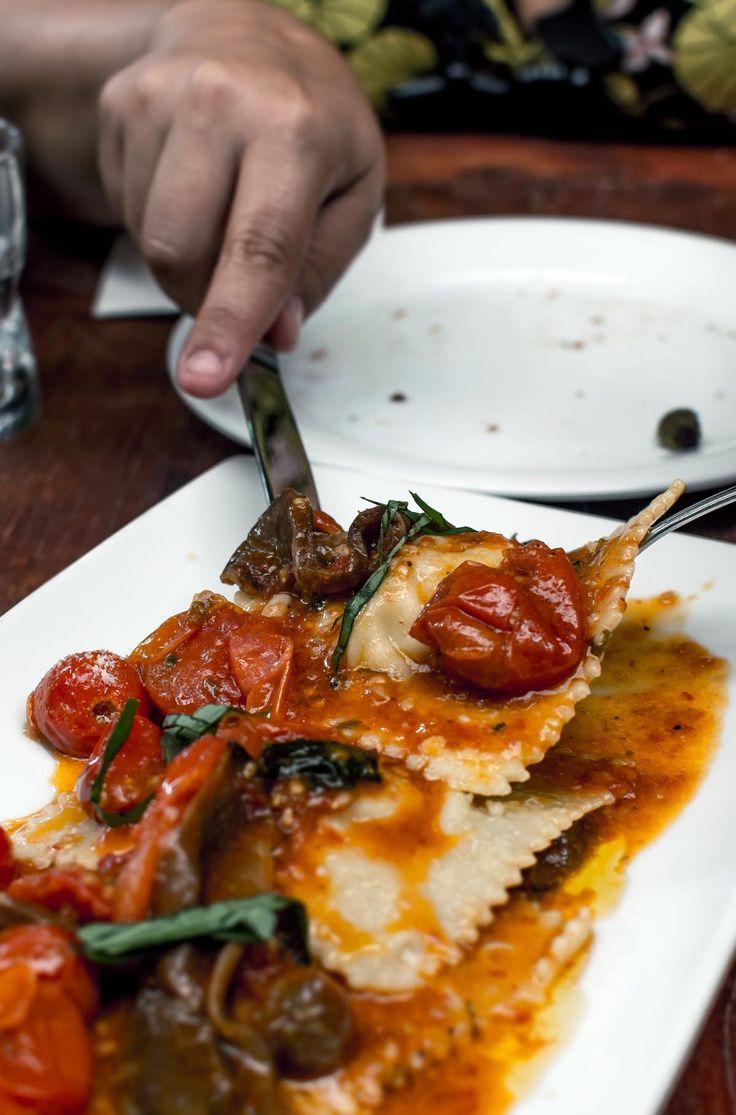 Buffalo mozzarella ravioli at Pinos Dolce Vita Fine Foods   heneedsfood.com