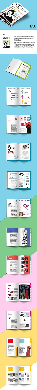 HZINE - magazine - Illustration and Graphic design on Behance