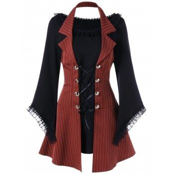 GET $50 NOW   Join Dresslily: Get YOUR $50 NOW!https://m.dresslily.com/striped-halter-lace-up-faux-twinset-mini-dress-product2288997.html?seid=S1dnph2dM6v334Gd2A98n77lGG