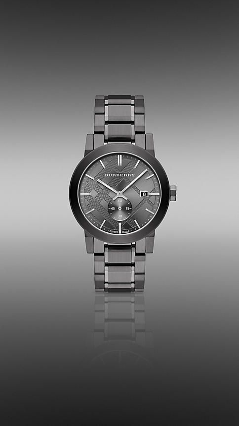 THE CITY BU9902 42MM SUBSECOND | Burberry