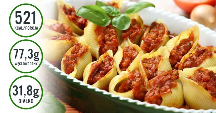 Faszerowane muszle #pasta #tomato #recipe