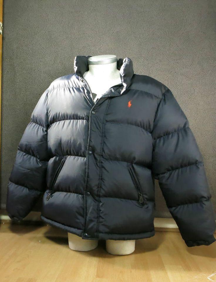 Polo Sport Ralph Lauren Puffer Bubble Coat Jacket Blue XL RRP £500
