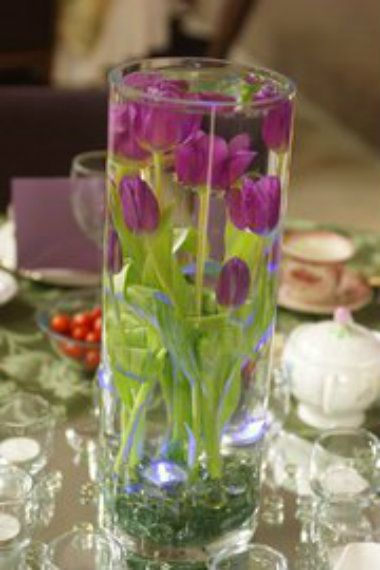 Creating A Submerged Centerpiece Is Very Simple Make Sure