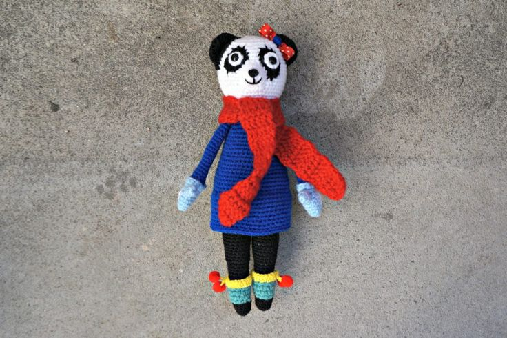 Crochet Panda - Werka tu i tam