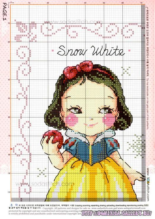 Dato il grande successo degli schemi delle baby disney princess ho deciso di mettere tutta la collezione delle principesse di soda stitch (B...