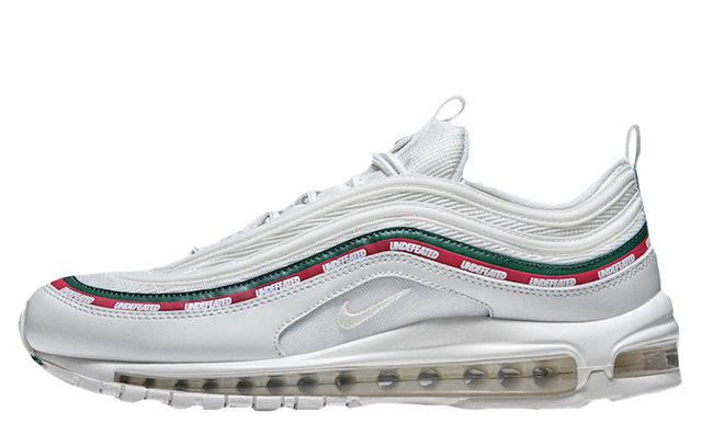 Find out all the latest information on the UNDFTD x Nike Air Max 97 White, including release dates, prices and where to cop.
