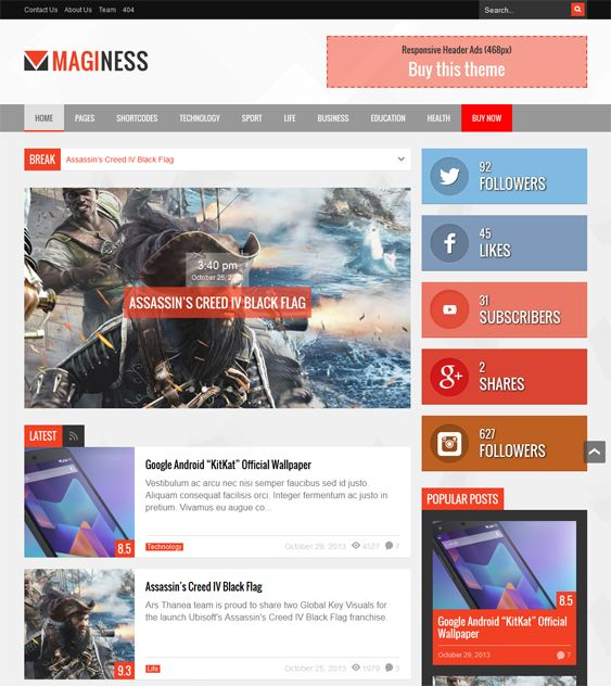33 best 33 More of the Best WordPress Themes for Review Sites images ...