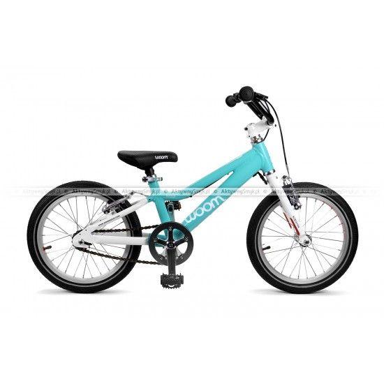 Wygodny rower dla dziecka ok 4 lata Woom 3 miętowy