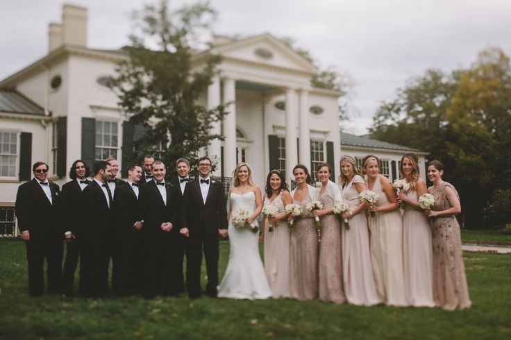 Bridal Party Photo By Stacey Downey Taft Museummiddleton Weddingmuseum Of Artfacadebridal Partieswedding