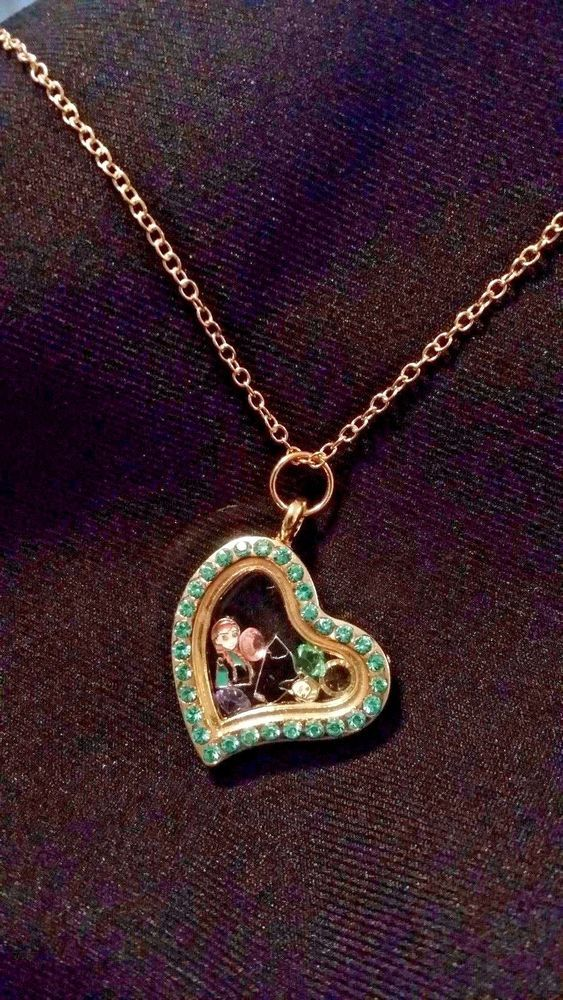 FROZEN Themed Living Memory Locket Floating Charm Necklace - Anna & Kristoff! #Unbranded #Chain