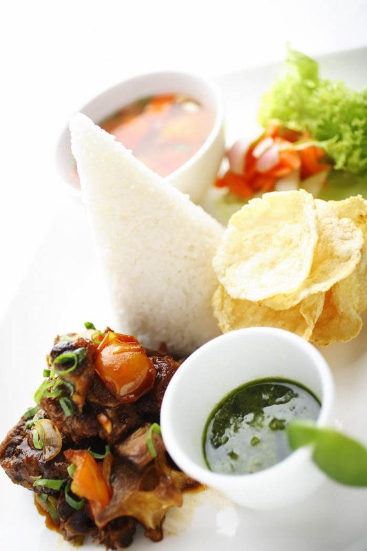 Selection of Local Food - Terrace Cafe