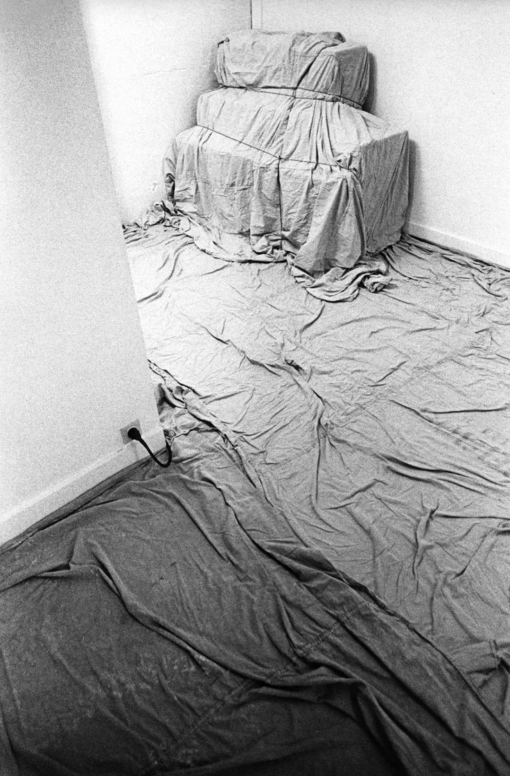 Christo and Jeanne-Claude   Projects   Wrapped Floor and Stairway