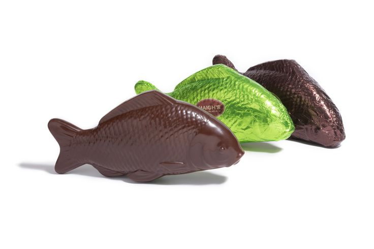 Our large chocolate fish are ever popular and only available at Easter time. Purchase online, instore and mobile. www.haighschocolates.com #Easter #Gifts #Chocolate #AustralianMade