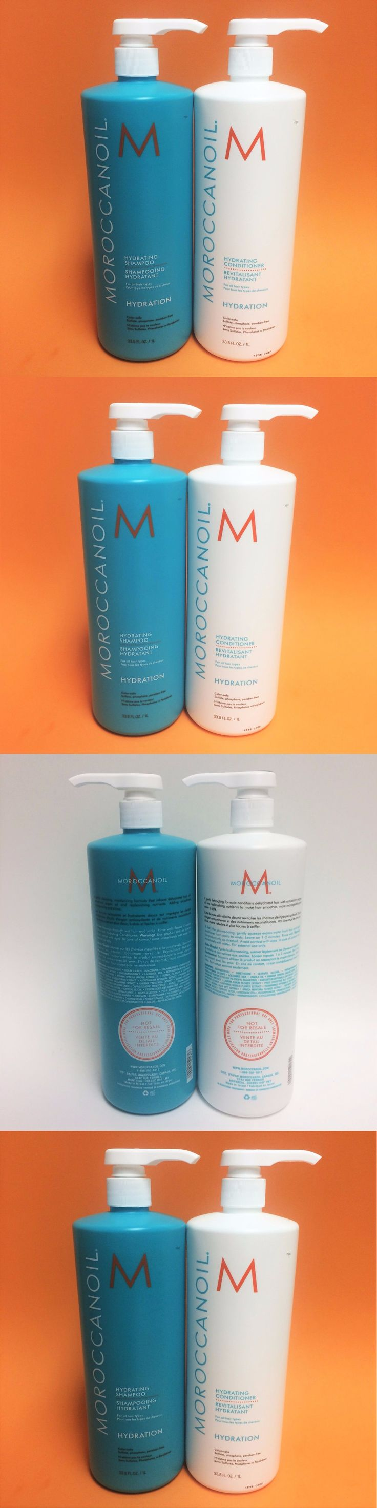 Shampoos and Conditioners: *With Free Gift* Moroccan Oil Hydrating Shampoo And Conditioner 33.8 Oz 1 L!!! -> BUY IT NOW ONLY: $88.9 on eBay!