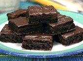 Dairy Free Choc Brownies... the most deliciously chocolate-y thing I've eaten in forever.