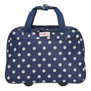 Cath kidston button spot wheeled business bag
