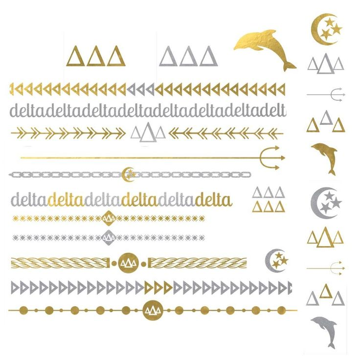 This Delta Delta Delta collection is perfect for every sorority sister! Show off your Greek pride when you wear these fashionable accessories! Great for formals, mixers and bid day! Collection Content