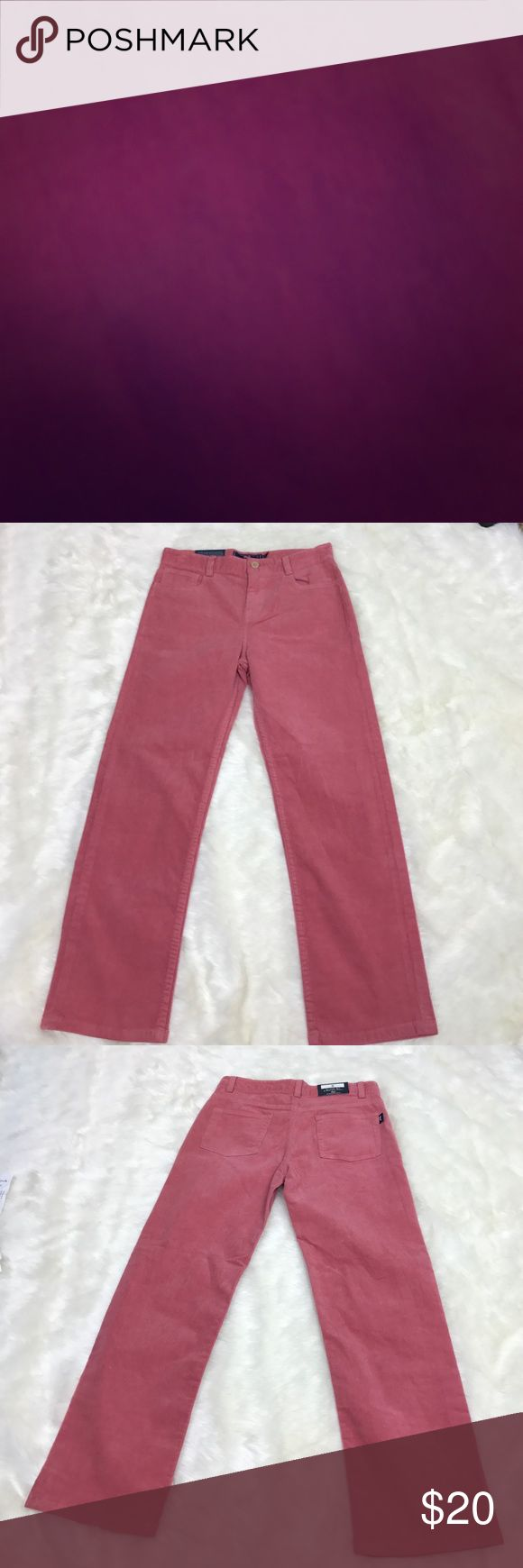 Vineyard Vines 5 Pocket Pant Please feel free to ask any questions, bundle, or make an offer. Vineyard vines classic 5 pocket corduroy pant in salmon color. Size 8 in boys. New with tag. Vineyard Vines Bottoms Jeans