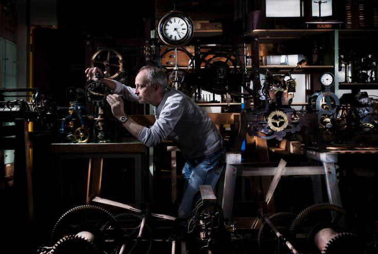 Vianney Halter, horloger du futur antérieur via @FondationHH