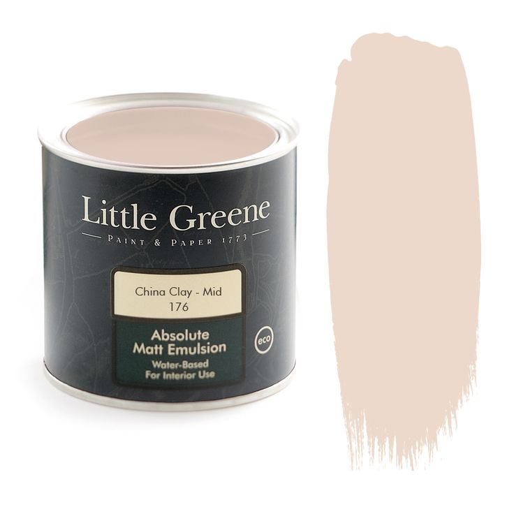 Little Greene Intelligent Matt Emulsion - China Clay Mid - http://godecorating.co.uk/little-greene-intelligent-matt-emulsion-china-clay-mid/