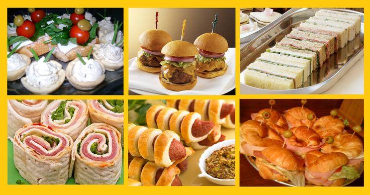 Snacks para fiestas recetas snacksdeliciosos a bit of - Como preparar una cena saludable ...
