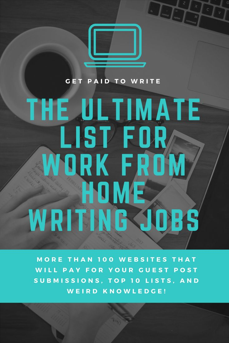 where to find work from home writing jobs