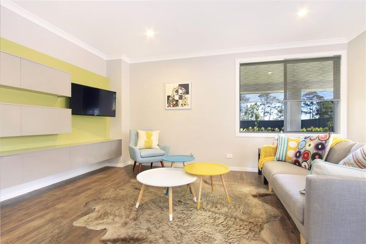 G.J. Gardner Homes Shoalhaven - Display Home, The Coolum, TV Room 20 Firetail Street, South Nowra, NSW, 2541