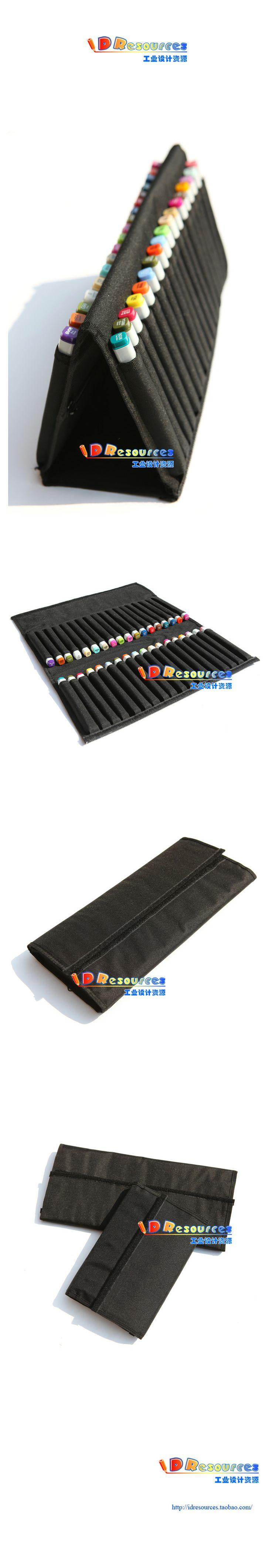 Caneta marca Copic estojo portátil caneta marca maleta de ferramentas saco para 36 pcs caneta em Estojos de Escritório & material escolar no...