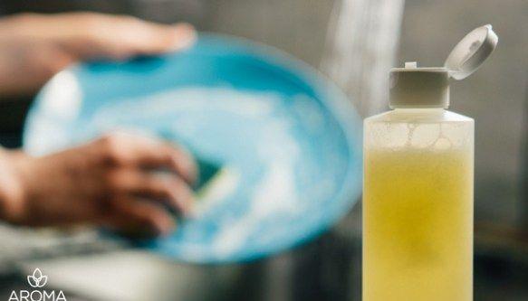 Homemade Natural Dishwashing Soap
