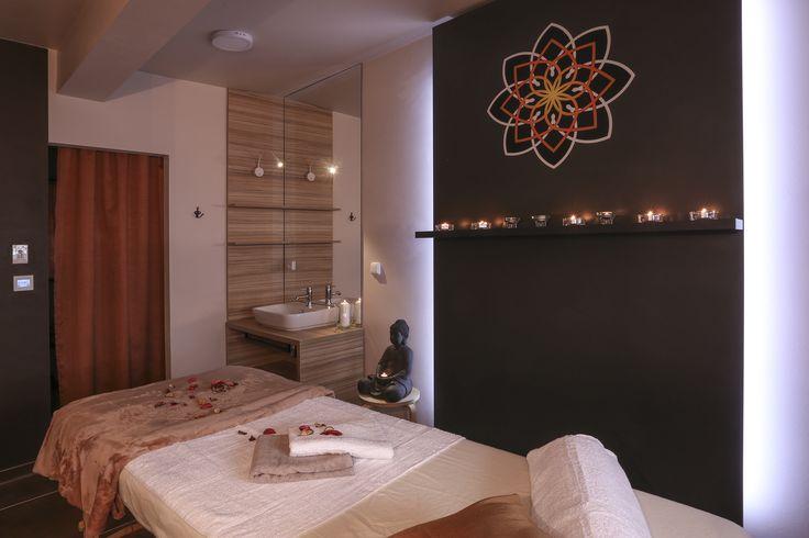 Nice Time Spa. Mandala, Buddha, svíčky. Relaxační atmosféra.