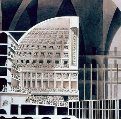 192 best lequeu boull e e ledoux images on pinterest for Paper for architectural drawings