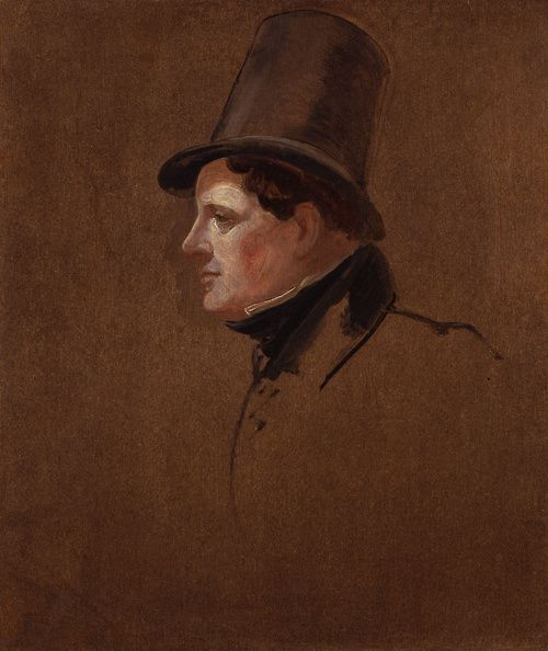 Portrait of Daniel O'Connell  Sir George Hayter  Oil on canvas  c. 1834