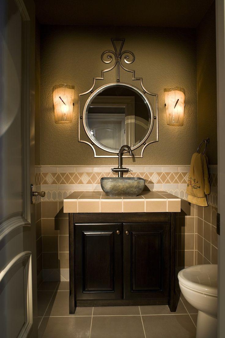 Best Powder Room Vessel Sinks Images Onbathroom