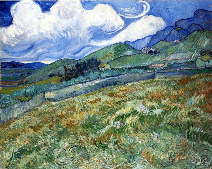 van Gogh As summer winds down and nights are cool, the sheer vitality of this cheers me.