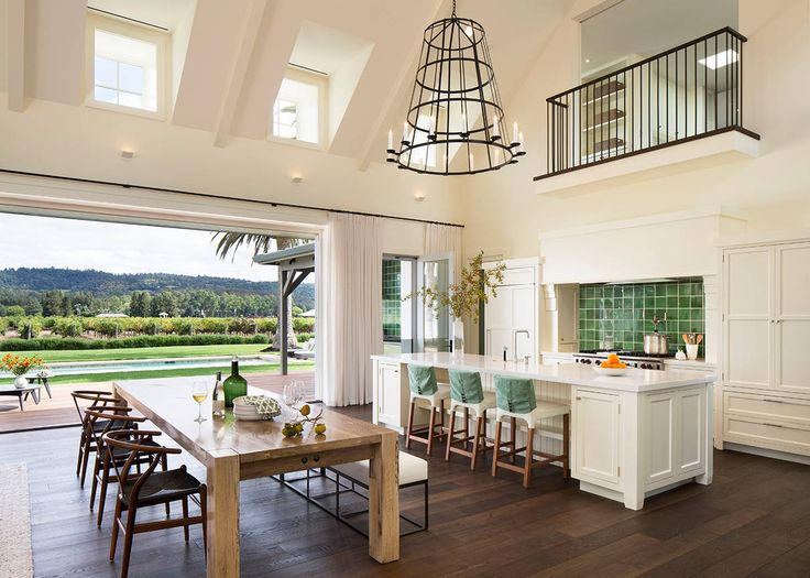 Amazing Farmhouse Designed By Total Concepts Situated In Santa Rosa California United States