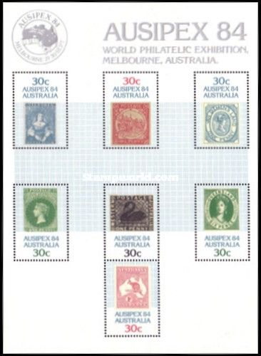 World Philatelic Exhibition Ausipex 84 Melbourne Stamps On