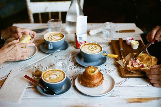 breakfast at Artifact Coffee / photo by Shuzhen