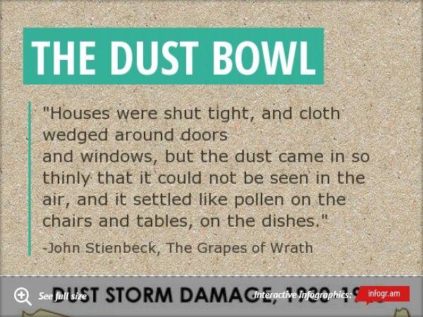 dust bowl sentence